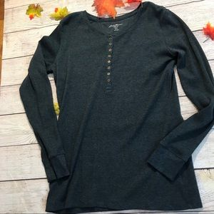 Eddie Bauer Henley Shirt ( Size XL)